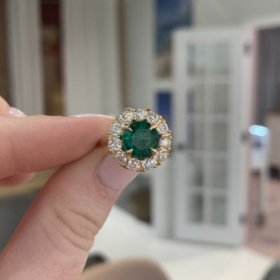 Remake / Redesign: Emerald Halo Ring