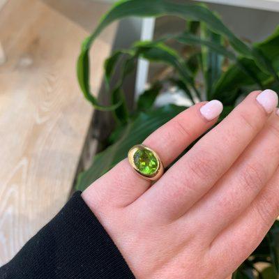 Remake/ Redesign: Peridot Ring