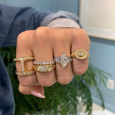 Custom: Marquise Ring