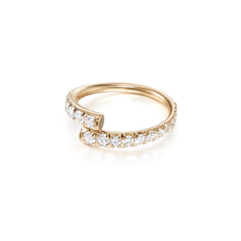 Lola Pinky Ring Full Diamond