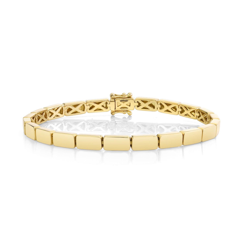 Yellow Gold Bunny Bracelet