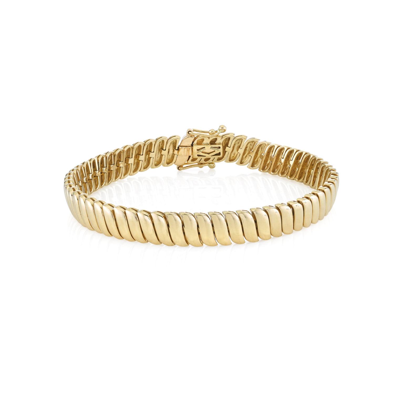 Yellow Gold Zoe Bracelet