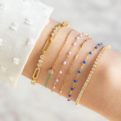 Diamond Smiley Bracelet